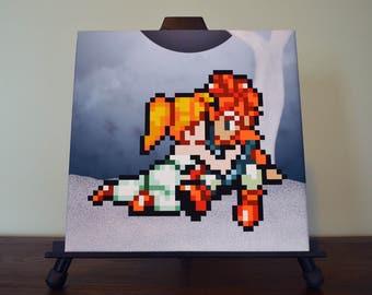 Chrono Trigger Crono & Marle Canvas Print
