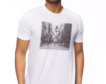 NYC T Shirts - Downtown - S M L XL - graphic tee