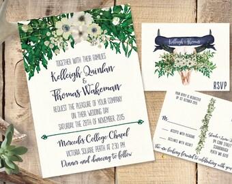 Custom Design Wedding Invitations - Design Fee