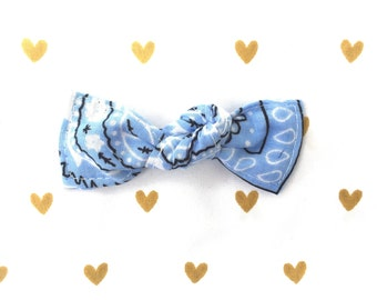 Bowdana Knot Bow (Playful Periwinkle)