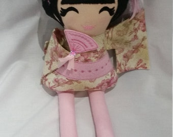 Japanese Geisha Plush toy