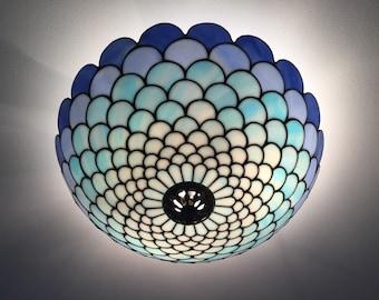 Art Deco Lamp, Ceiling Light, Ceiling Lamp Shade, Ceiling Lighting, Ceiling Lamp, Stained Glass Art, Stained Glass Table Lamp, Lamp Shade