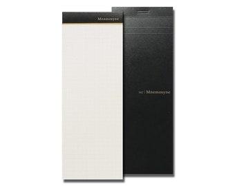 Maruman Mnemosyne Grid Memo Notepad - Maruman Mnemosyne Notepad, Maruman Mnemosyne Memo Pad, Memopad, Memo Book, Notebook Refill, 162, A5