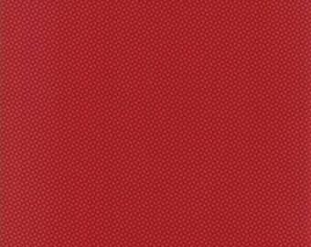 Farmhouse Reds - Triangle Dark Red by Minick & Simpson for Moda, 1/2 yard, 14854 11