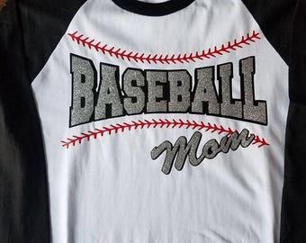 Baseball Mom T Shirt Baseball Sleeve Shirt Baseball Life Mom Homerun Baseball Mound Baseball Coach
