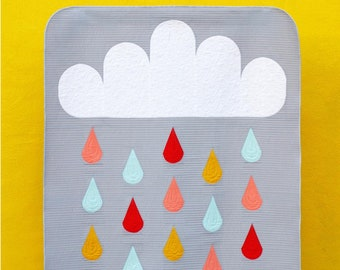 Rainy Day Quilt Pattern by Pen + Paper Patterns