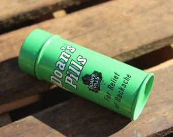 Vintage 1960's Doan's Pill Tin