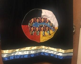 Ribbon Skirt, Ceremonial Skirt, Sundance Skirt, Pow Wow Skirt, Regalia