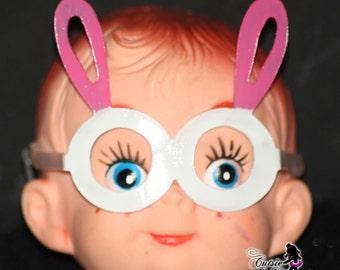Bunny Ears Elf Glasses - Elf Accessories - Elf Eye  Glasses - Easter Elf - Felt Elf Clothes - Easter Bunny Elf