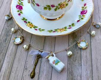 Victorian Tea Party Necklace