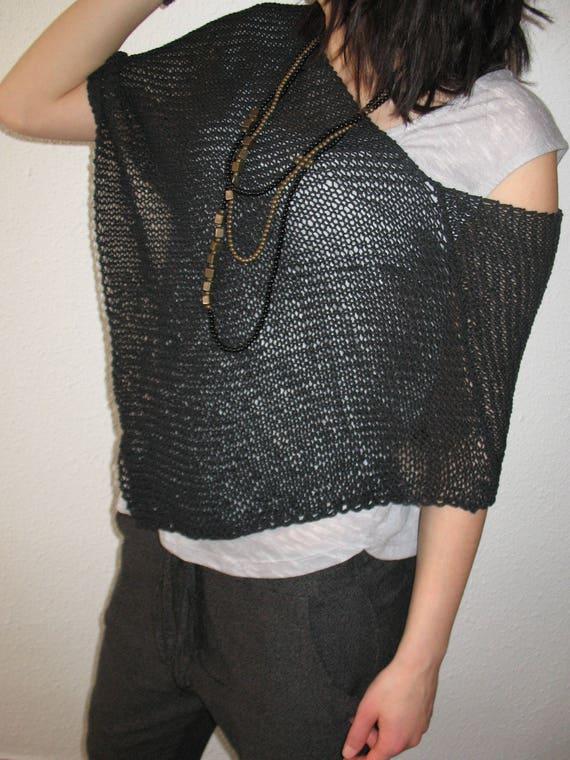 black poncho, summer poncho, fashion ,style poncho, cotton poncho, Egypt cotton, NATURAL FIBER, gift for a girl,gift for women, ponchos moda