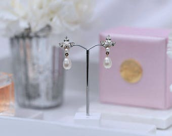 Wedding earrings - The Rutherglen