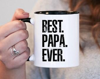 Best Papa Ever, Papa Gift, Papa Birthday, Papa Mug, Papa Gift Idea, Baby Shower, Mothers Day, mug gift