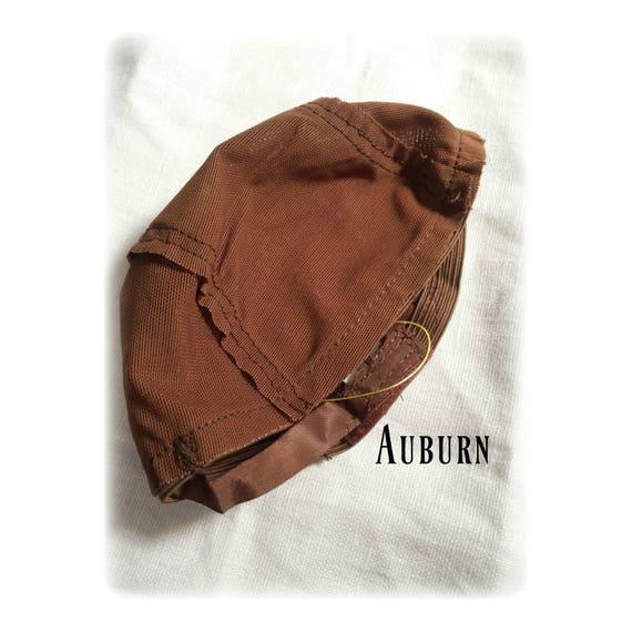 Doll Wig cap - Auburn
