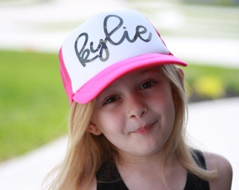 Personalized Camo Youth Hat, Snap back, Camouflage, Snap back Hat