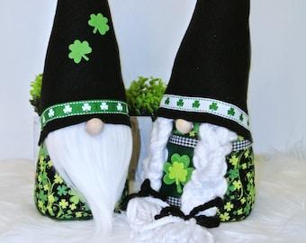 Nordic St. Patrick's Day Gnomes, Tomte, Nisse, Irish Gnomes, Swedish Gnomes