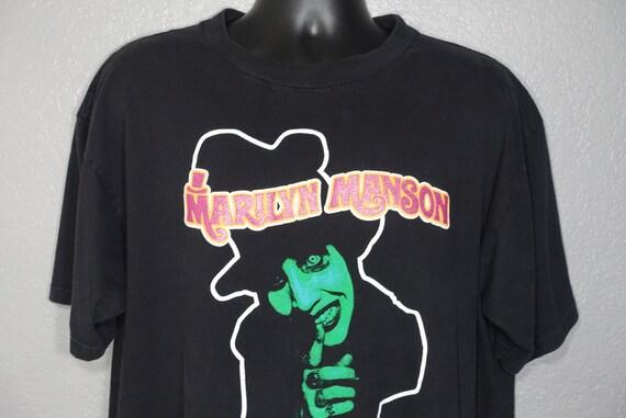 1995 Marilyn Manson - Smells Like Children - Sweet Dreams Era - Winterland - Goth Grunge Vintage Concert T-Shirt