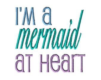 Embroidery File,  Embroidery, Embroider, Digital File, Embroidery Pattern, Machine Embroidery, Mermaid Embroidery Design, Mermaid