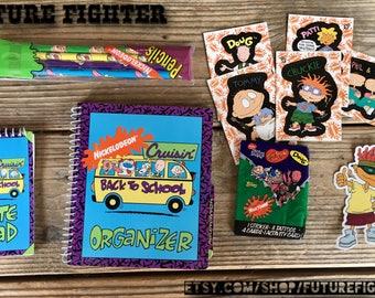 90's Nickelodeon Planner Set