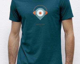 Headphoon Ocean | T-shirt | Eco-friendly
