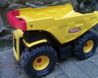 Large Vintage Tonka Truck Dump Toy Play Construction