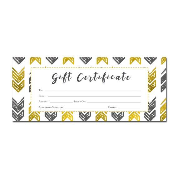 Custom Gift Certificate Printing Boatremyeaton