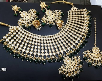 Kundan Set | Kundan Jewelry | Kundan Jewellery | Indian Bridal Jewelry | Sabhyasachi Bridal Set | Indian Bridal Jewellery