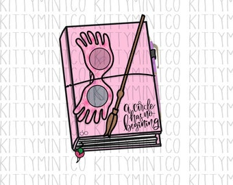 DIGITAL | Luna Lovegood Planner | Kitty Mint Co |