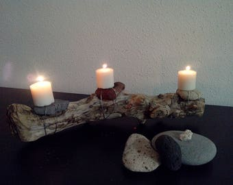 Candle chandelier from Driftwood