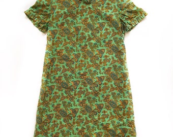 60's Paisley Summer Frock