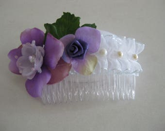 Purple Lavender Blush Broom Collection: Hair Acessories