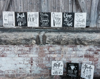 Cute Kitchen Wall Decor, Funny Kitchen Sign, Kitchen Pun Sign, Food Pun Sign, Fun Kitchen Wall Art, Kitchen Wall Decor, Black and White Art