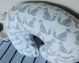 Little Fox Boppy Pillow Cover