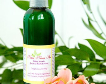 Natural Baby Lotion, Baby Moisturizer, Baby Cream