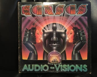 1980 Kansas Audio Visions Vinyl Record Excellent Condition