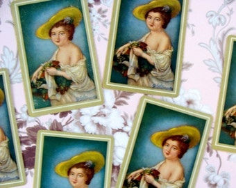 Antique Signature Victorian Playing Cards