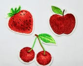 Strawberry, Cherries, App...