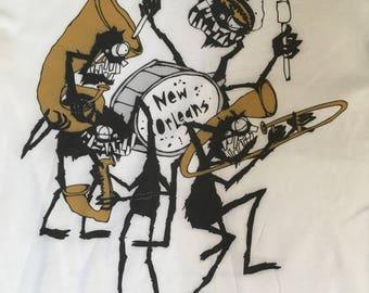 Monster Brass Band Soft T-Shirt