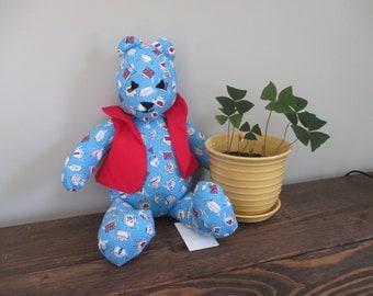 "Handmade 18"" Cuppa Teddy Bear"