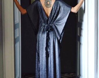 Silver butterfly dress