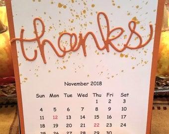 2018 Handmade Calendar
