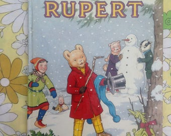 1989 Rupert Annual. Good condition.