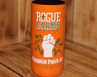 Upcycled Rogue Brewing Pumpkin Patch Ale Pint Glass
