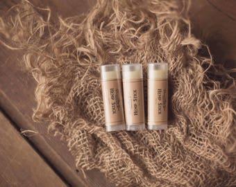 Hemp Stick Healing Lip Balm - Natural - Handmade - Chapstick - Hemp Oil - HempSeed Oil - Essential Oil