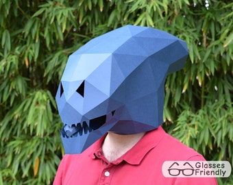 Alien Xenomorph Mask - Become an Alien with just Paper and Glue!   Paper Mask   DIY Mask   Halloween Mask   Alien Mask