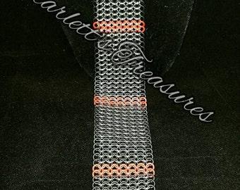 Chainmaille necktie *As seen on @Midnight*