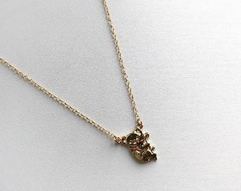 Handmade Gold/Silver Koala Necklace Pendants