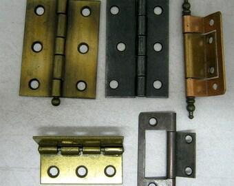 5 Metal Industrial Hinges