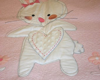 Heart O'Bunny Baby Quilt