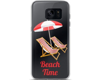 Beach Time Samsung Case